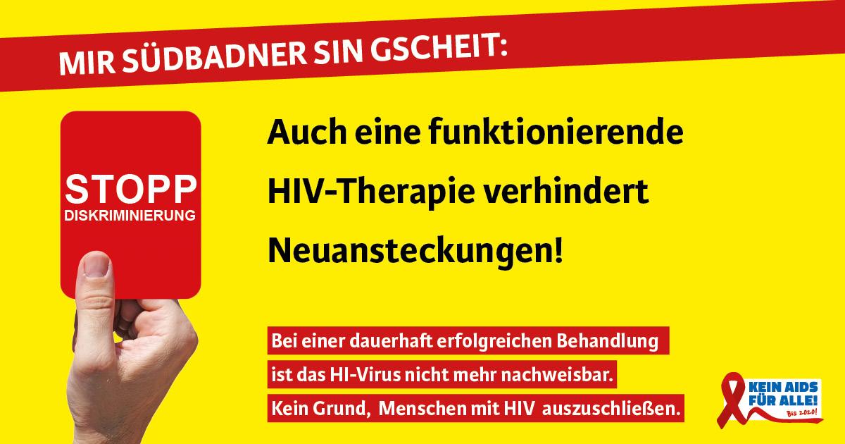 Anzeigen Kampagne zur Anti-Diskrimierung in Südbaden
