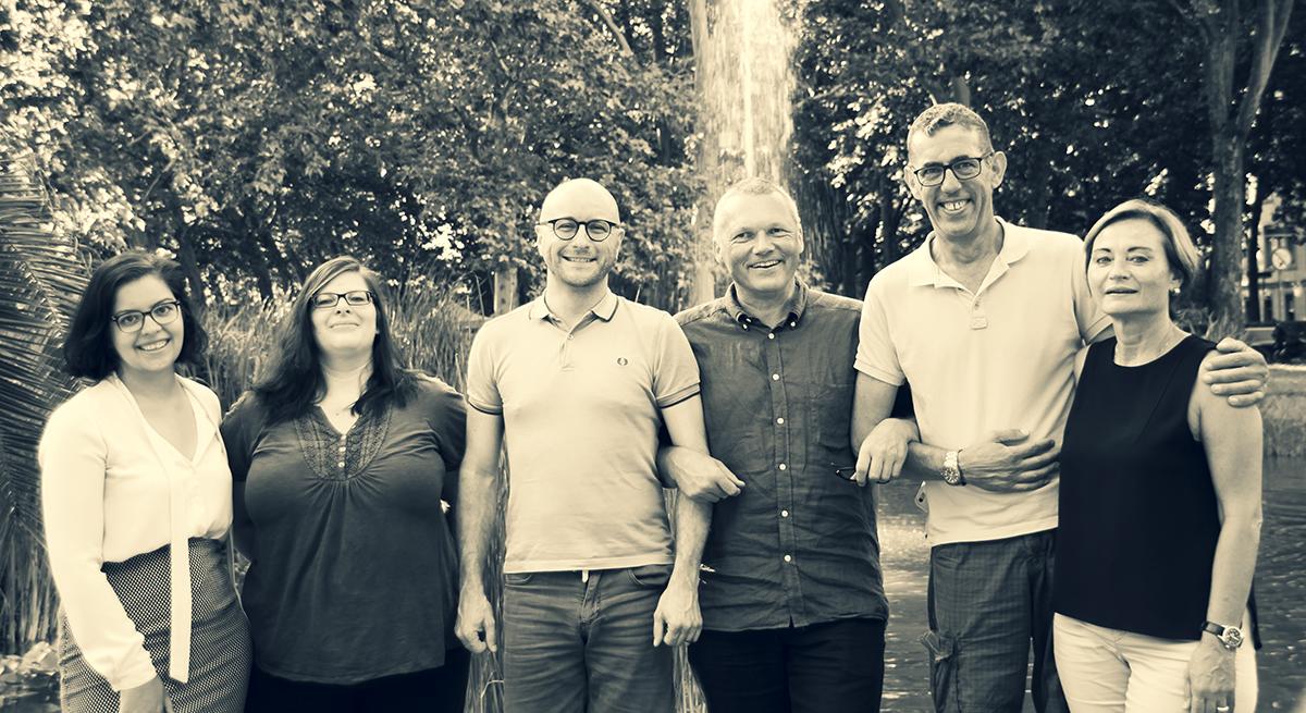 Gruppenfoto Vorstand AH-Freiburg