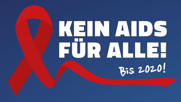 Logo Kein Aids für alles Kampagne